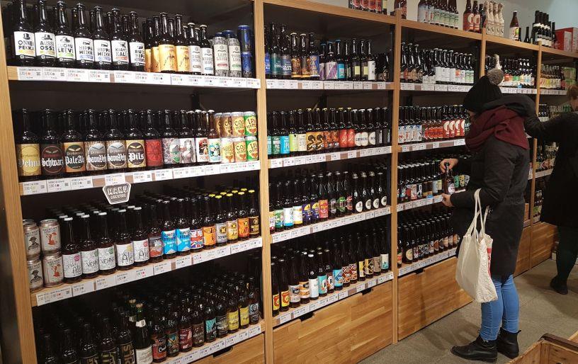 Pien olutkauppa Helsingissä