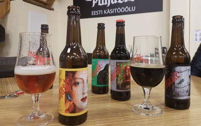 Puhaste Brewery Tartossa