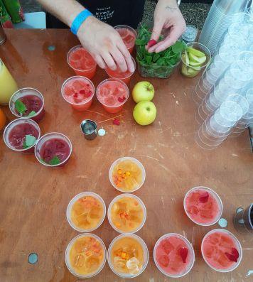 Erilaisia drinkkejä Napuesta