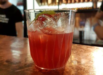 Kyrö Napue drinkki Red&Rye