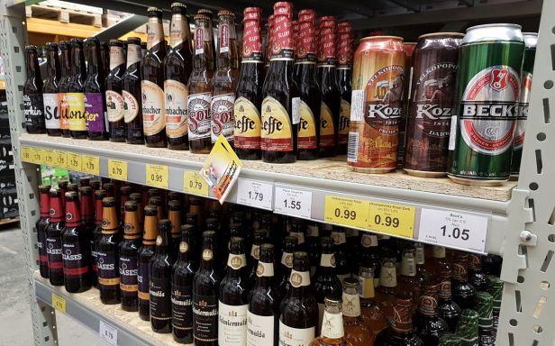 Olutvalikoima Latvia