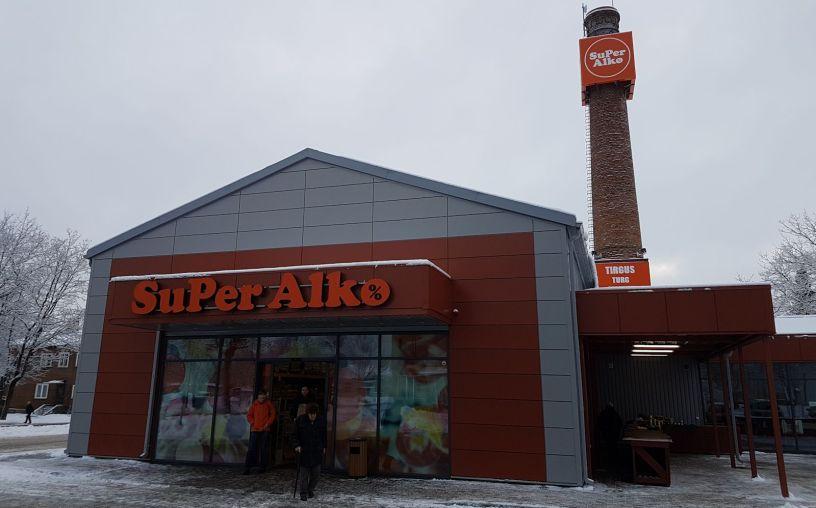 Olutta Latviasta Superalko
