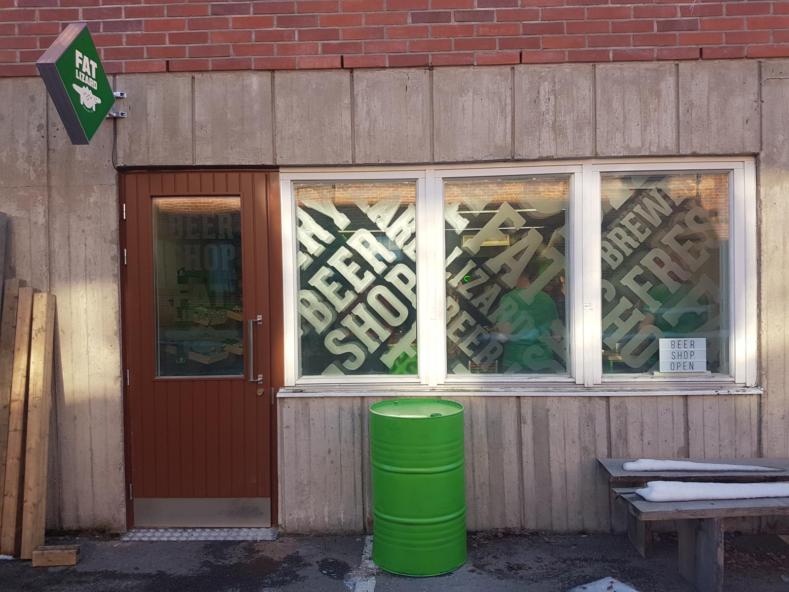 Fat Lizard Beer Shop